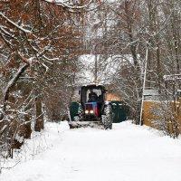 А за городом зима, зима, зима... :: Татьяна Помогалова