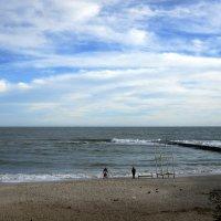 На декабрьском пляже :: Людмила