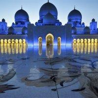 Мечеть Шейха Зайда в Абу-Даби :: Маргарита