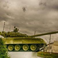 Питер Т-80 на Нефтяной дороге :: Юрий Плеханов
