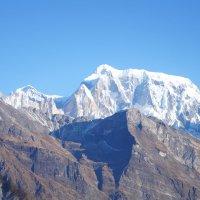 Непал. Покхара. Вид на горы с борта дельтаплана :: Gal` ka