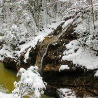 Зимний водопад :: Вячеслав Случившийся