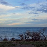 Зимой закат наступает рано :: Людмила