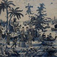 Доска в  стиле шинуазри (1680-1700) :: Елена Павлова (Смолова)