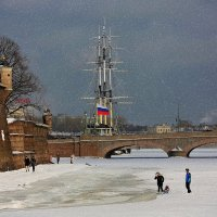 Зима в Питере (veduta) :: Александр Алексеенко
