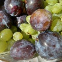 Виноградно-сливовое ассорти :: Нина Корешкова
