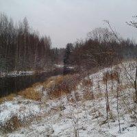 Декабрь на речке. :: Элен