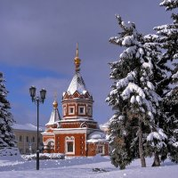 Вспоминая солнечную и морозную зиму :: Николай Белавин