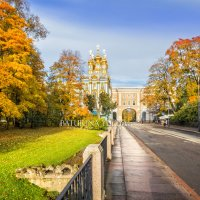 Осень в Царском Селе :: Юлия Батурина