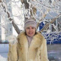Когда зима рисует узоры :: Светлана Бурлина