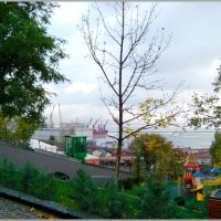 С видом на Черное море.... :: Любовь К.