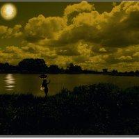 Купание под луной. :: Anatol Livtsov