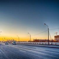 Питер Октябрьская набережная :: Юрий Плеханов