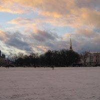 Петербург декабрьский :: Маера Урусова