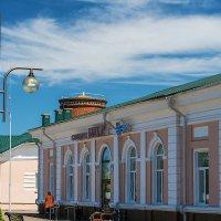 Маленькая железнодорожная станция в Республике Беларусь :: Игорь Сикорский