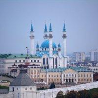 Казанский кремль вид с колеса обозрения. :: Андрей + Ирина Степановы