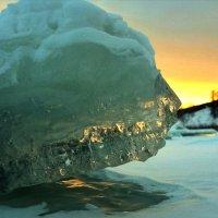 Ледяной рассвет :: Сергей Шаврин