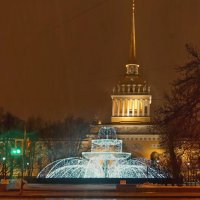 Адмиралтейский фонтан :: Владимир Гилясев