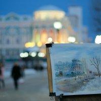 зимний вечербург в масле :: StudioRAK Ragozin Alexey