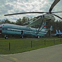 Монино. Вертолет Ми -12 (В-12). Monino. Mi-12 helicopter (B-12). :: Юрий Воронов