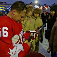 Автограф для юнармейцев :: Кай-8 (Ярослав) Забелин