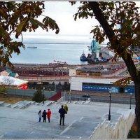 Одесса.Потемкинская лестница. Морской вокзал. :: Любовь К.