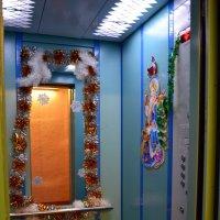 Лифт для Деда Мороза :: Ольга