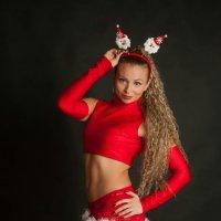 Спортивная Снегурочка :: Albina