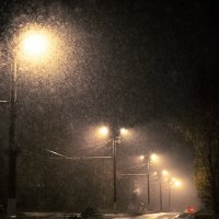Ночь, улица, фонарь, такси... :: Александр Руцкой
