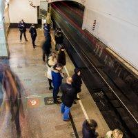 Поезд ушел. :: Сергей Ромадин