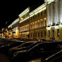 Итальянская улица ночью. :: Игорь Кудрявцев