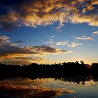 Летний вечер... красивый закат... :: Ольга Русанова (olg-rusanowa2010)