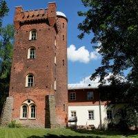 Дача Александра Брюллова. Башня, на смотровой площадке которой была устроена обсерватория :: Елена Павлова (Смолова)