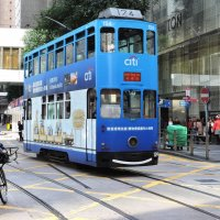 Двухэтажные трамваи Гонконга :: Tatiana Belyatskaya