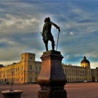 Закат над Гатчиной... :: Sergey Gordoff