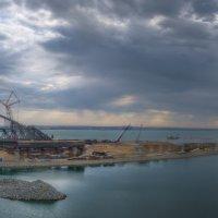 Былые этапы строительства Крымского моста. :: Анатолий Щербак
