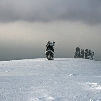 Зима на Мань-Пупах :: Галина Ильясова
