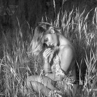 """""""Девушка в траве"""" :: Борис Лебедев"""