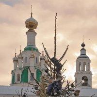 Накануне Рождества, в Толгском монастыре :: Николай Белавин