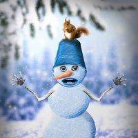 снеговик :: Blondx Blondx