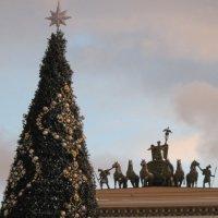 Елка на Дворцовой площади :: Маера Урусова