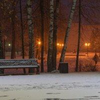 В заснеженном парке. :: Виктор Евстратов