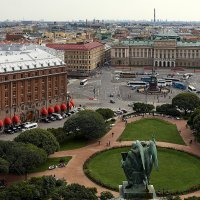 Вид на Петербург с Исакиевского собора :: Aleks 9999