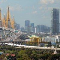 Бангкок. Мост Рамы IX (สะพานพระราม 9) :: Владимир Анакин