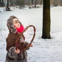 Шаманка зовет зиму :: Ирина Вайнбранд