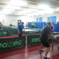 Открытый турнир по настольному теннису среди пенсионеров :: Центр Юность