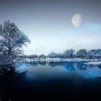 холодная ночь :: Евгений Ромащенко