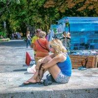 На летнем бульваре. :: Вахтанг Хантадзе