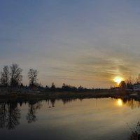 Вечером у пруда :: Oleg S