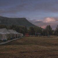 рассвет над палаточным лагерем :: Сергей Черных